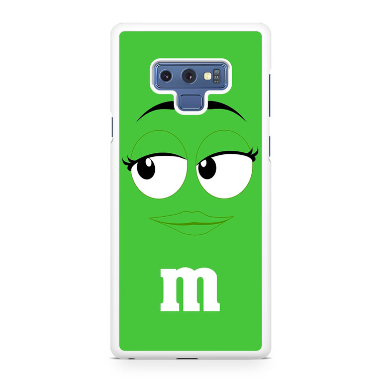 M&M's Green Samsung Galaxy Note 9 Case