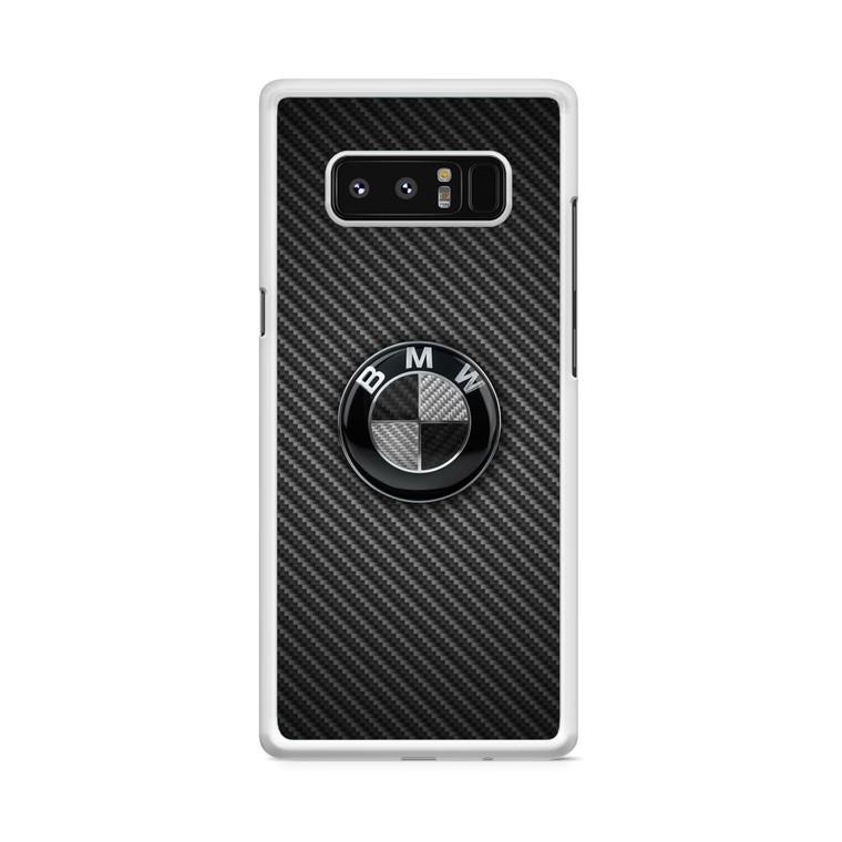 BMW Black Carbon Samsung Galaxy Note 8 Case