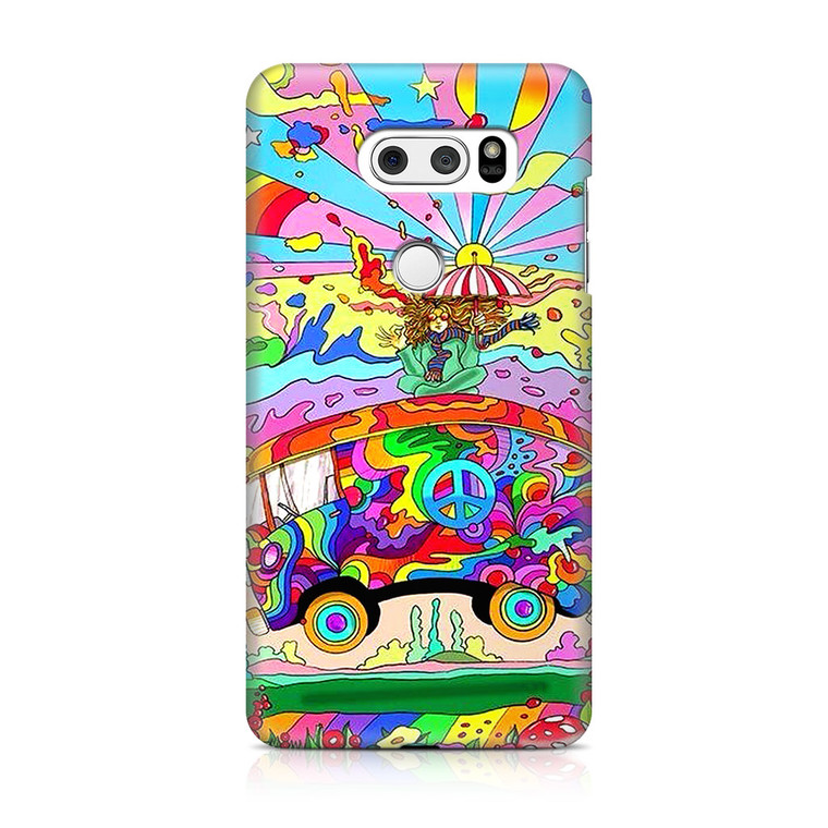 Hippie Magic Bus LG V30 Case