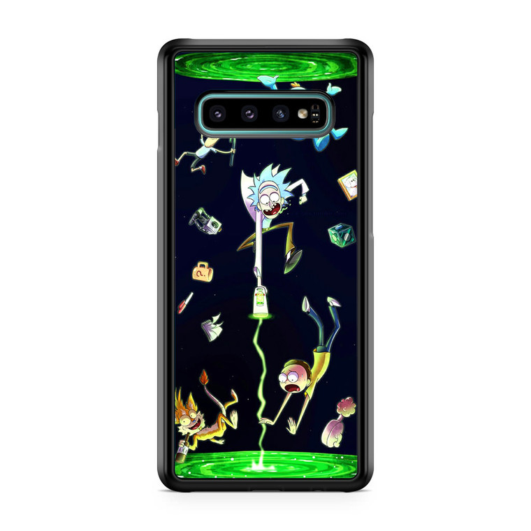 Rick And Morty Fan Art Samsung Galaxy S10 Case