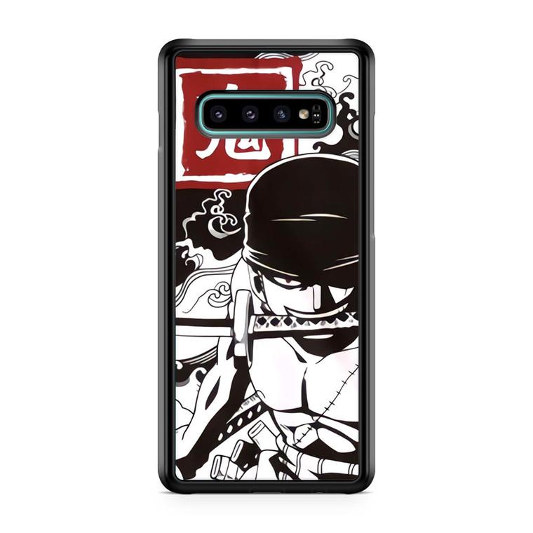 Roronoa Zoro 2 Samsung Galaxy S10 Case
