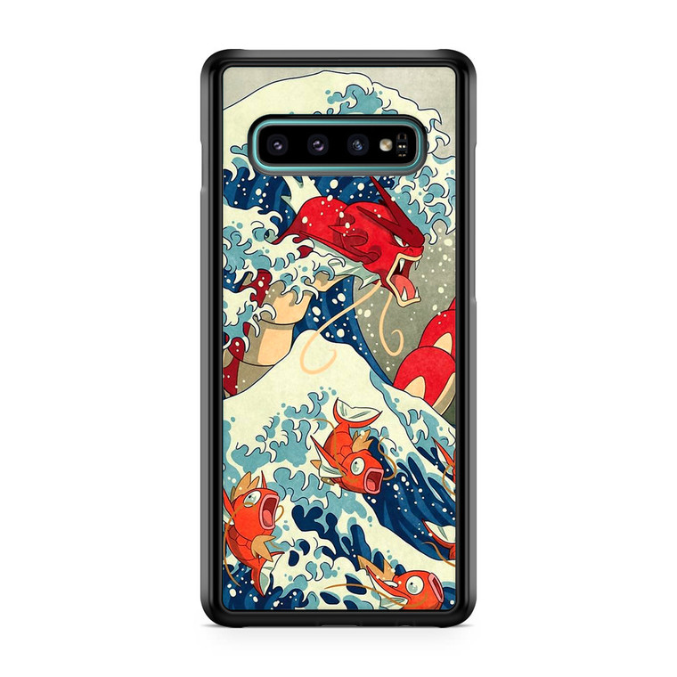 The Great Wave Of Kanto Pokemon Samsung Galaxy S10 Plus Case