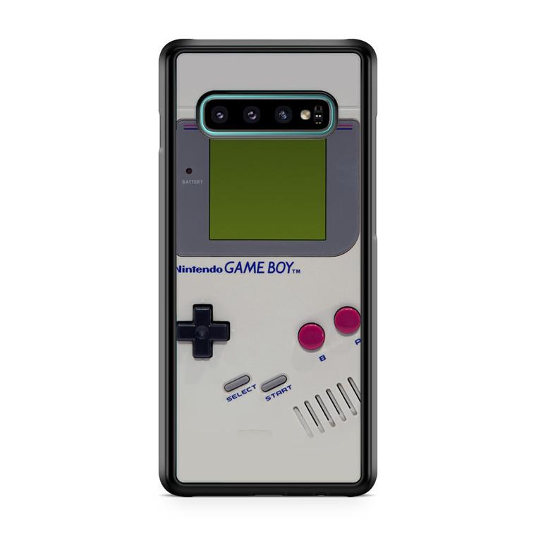 Retro Gameboy Nintendo Samsung Galaxy S10 Plus Case
