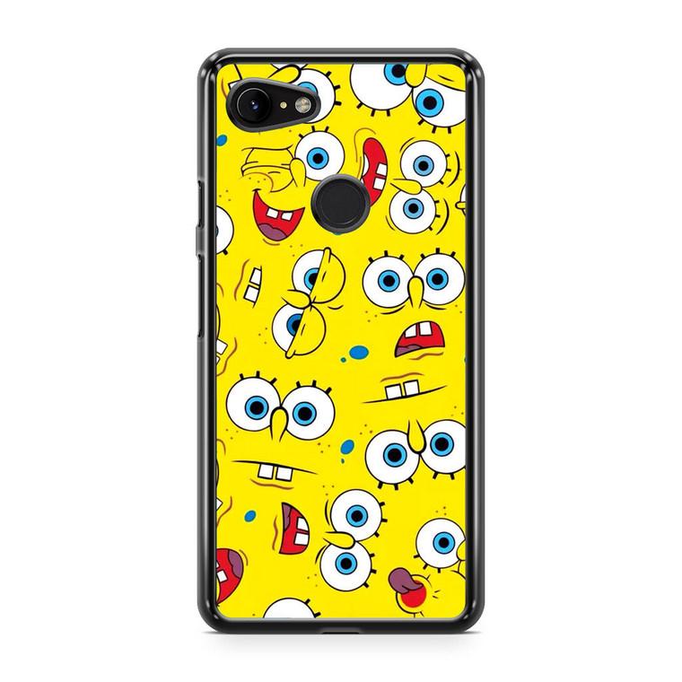 Spongebob Collage Google Pixel 3a XL Case