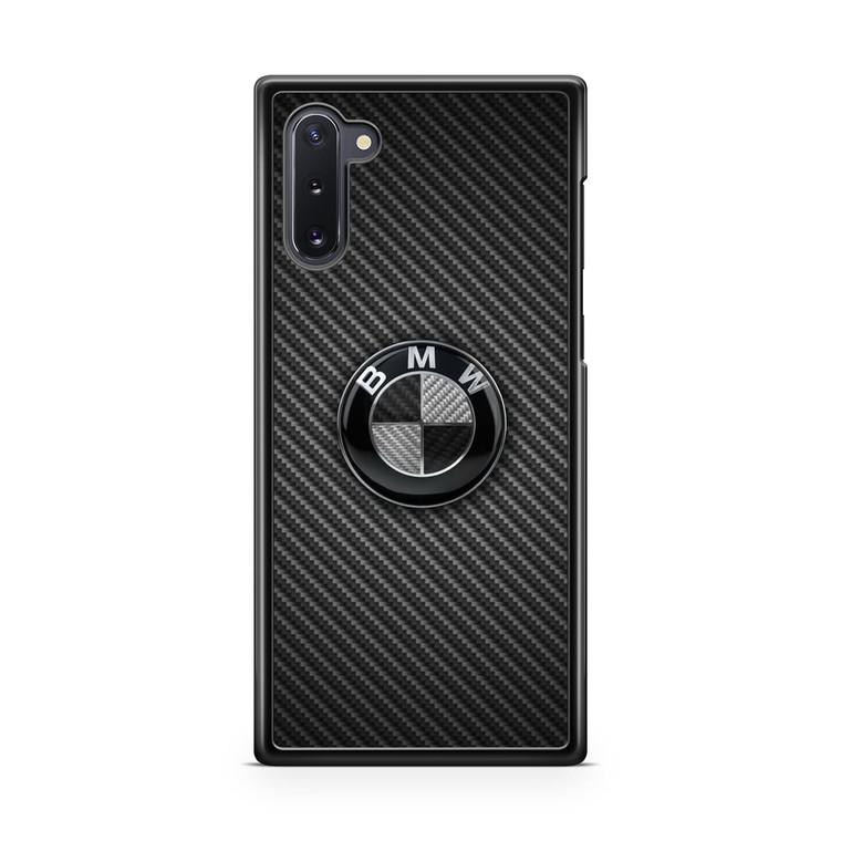 BMW Black Carbon Samsung Galaxy Note 10 Case