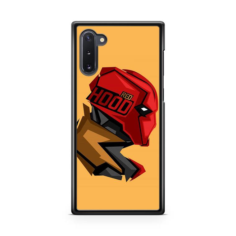 Red Hood Pop Head Samsung Galaxy Note 10 Case