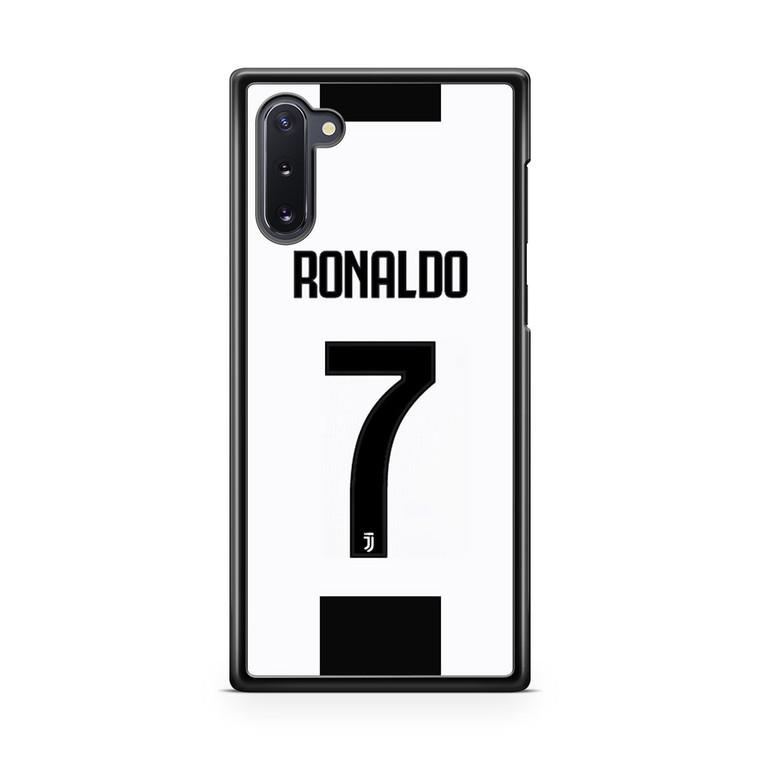 Ronaldo Juventus Jersey Samsung Galaxy Note 10 Case