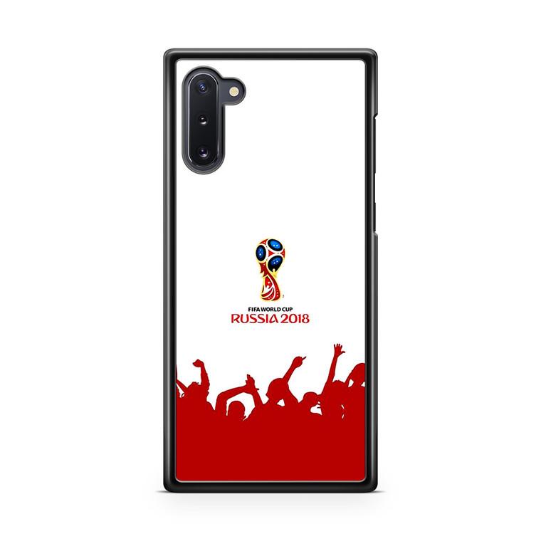 Russia Fifa Worldcup 2018 Logo Samsung Galaxy Note 10 Case