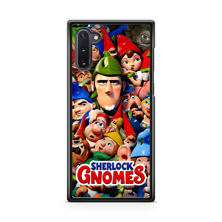 Sherlock Gnomes 1 Samsung Galaxy Note 10 Case