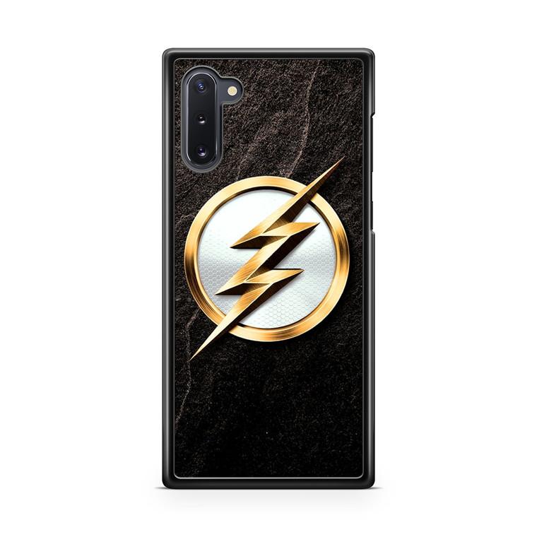 The Flash Gold Logo Samsung Galaxy Note 10 Case