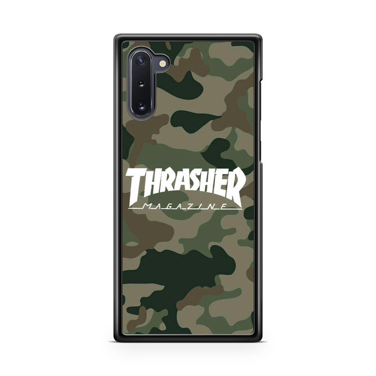 Thrasher Magazine Bape Camo Samsung Galaxy Note 10 Case