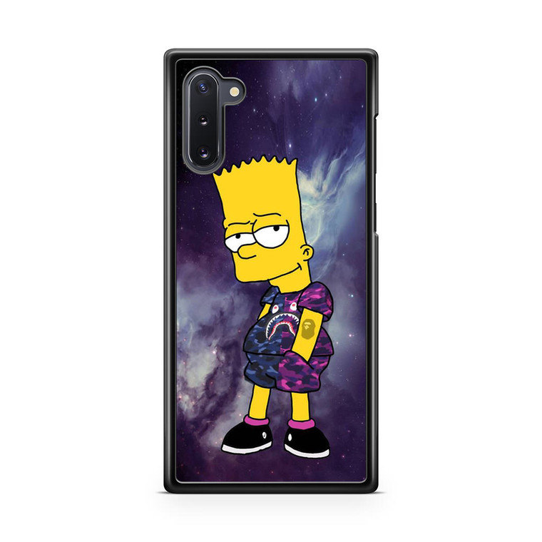 Bart Bape Samsung Galaxy Note 10 Case
