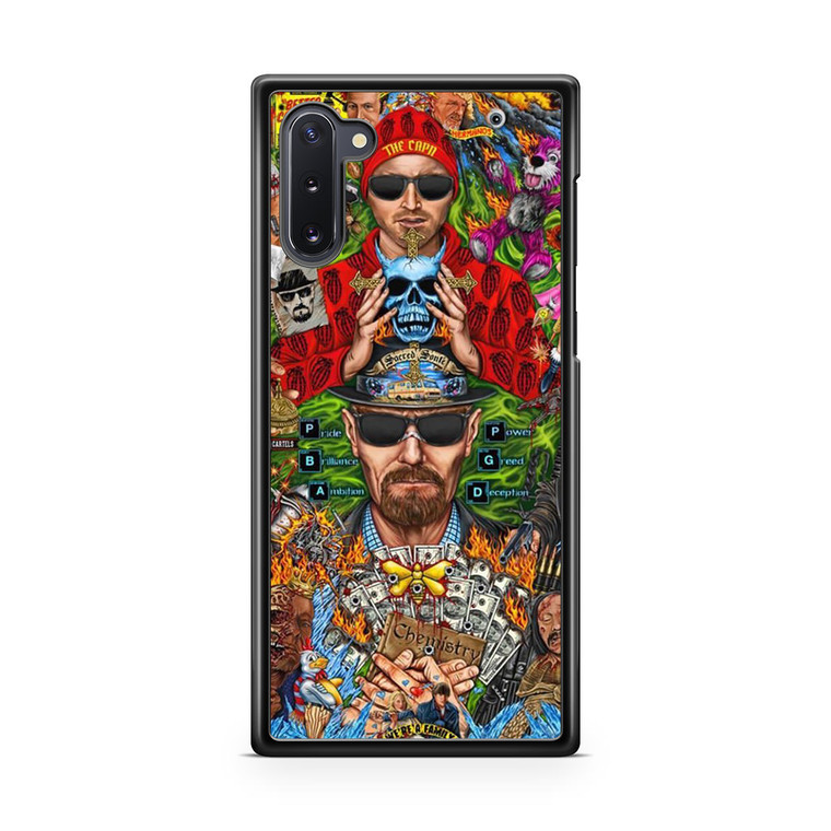 Breaking Bad Art Samsung Galaxy Note 10 Case