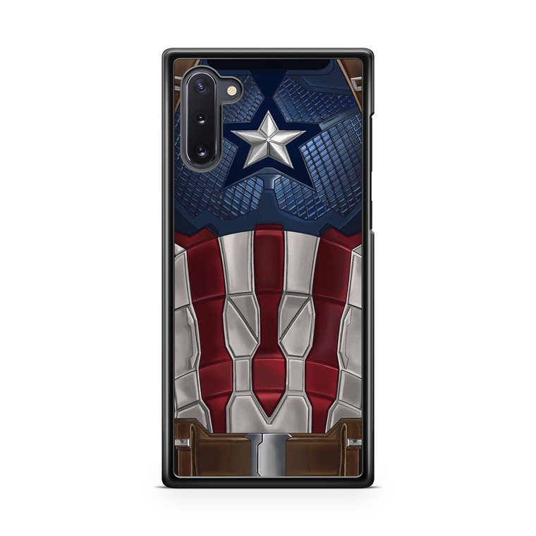Captain America Suit Samsung Galaxy Note 10 Case