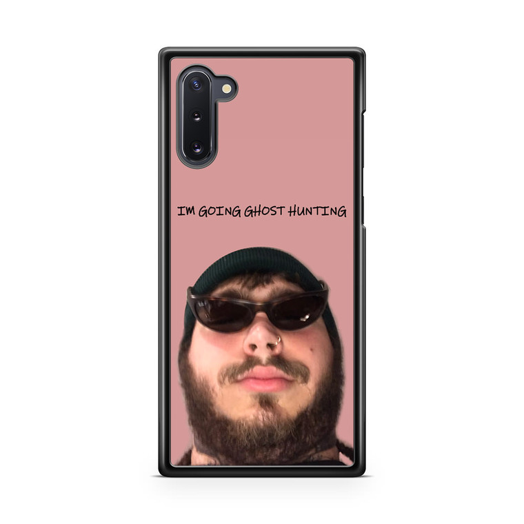 Ghost Hunting Post Malone Samsung Galaxy Note 10 Case