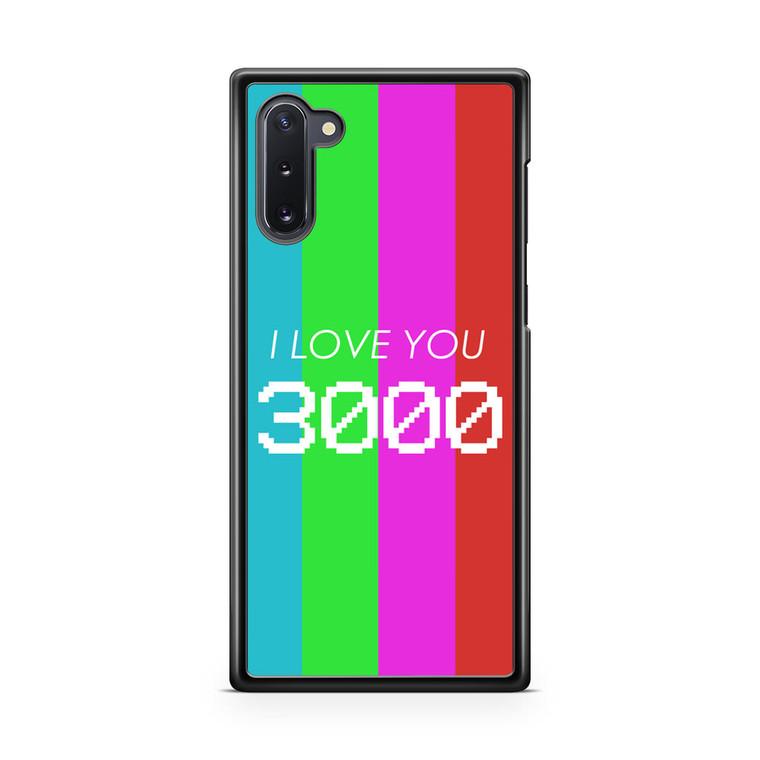 I Love You 3000 Samsung Galaxy Note 10 Case