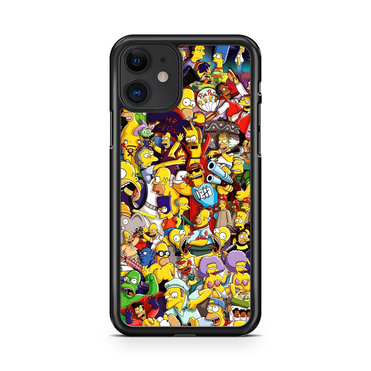 The Simpsons Characters iPhone 11 Case
