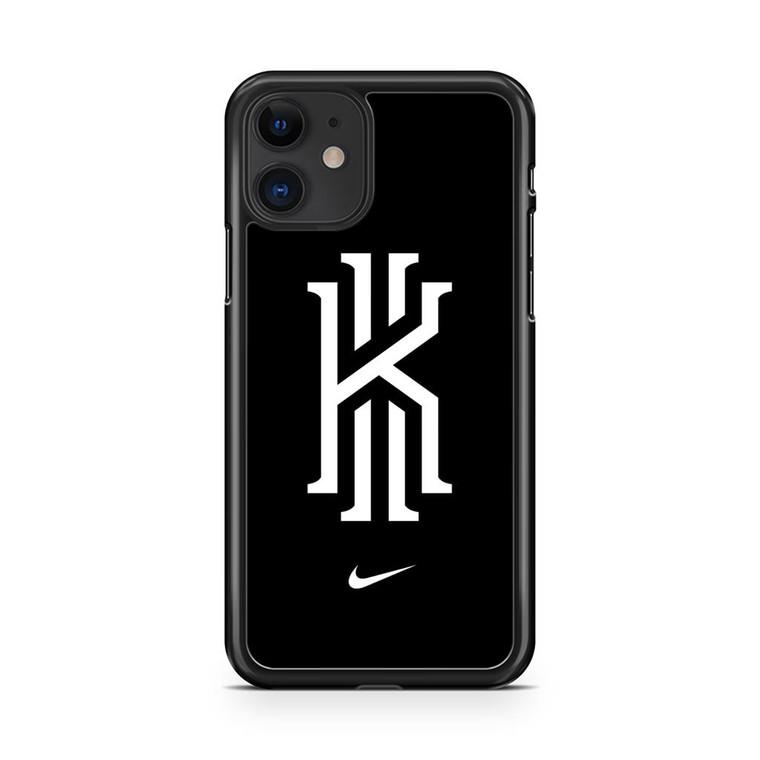Kyrie Irving Nike Logo Black1 iPhone 11 Case