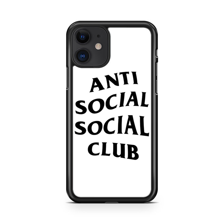 Anti Social Social Club iPhone 11 Case