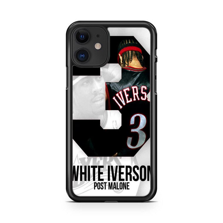 Post Malone White Iverson iPhone 11 Case
