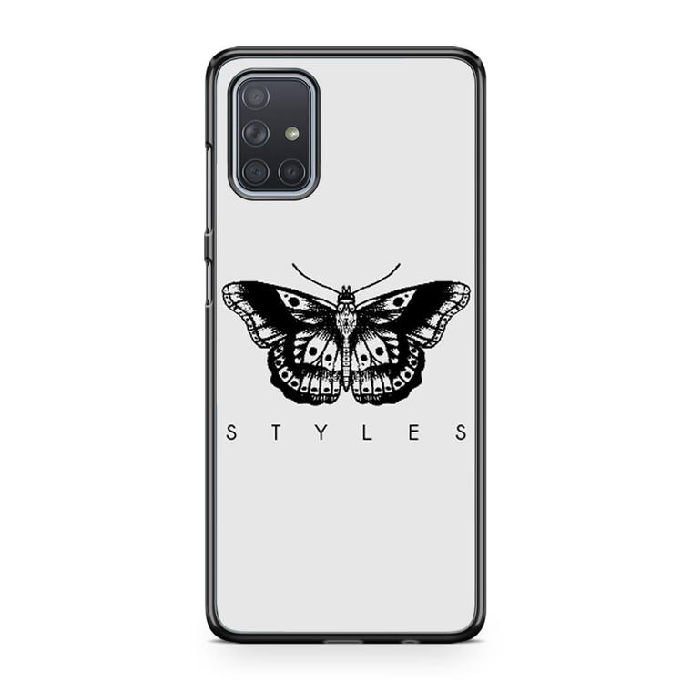 1d Harry Styles Tattoos Samsung Galaxy A71 Case