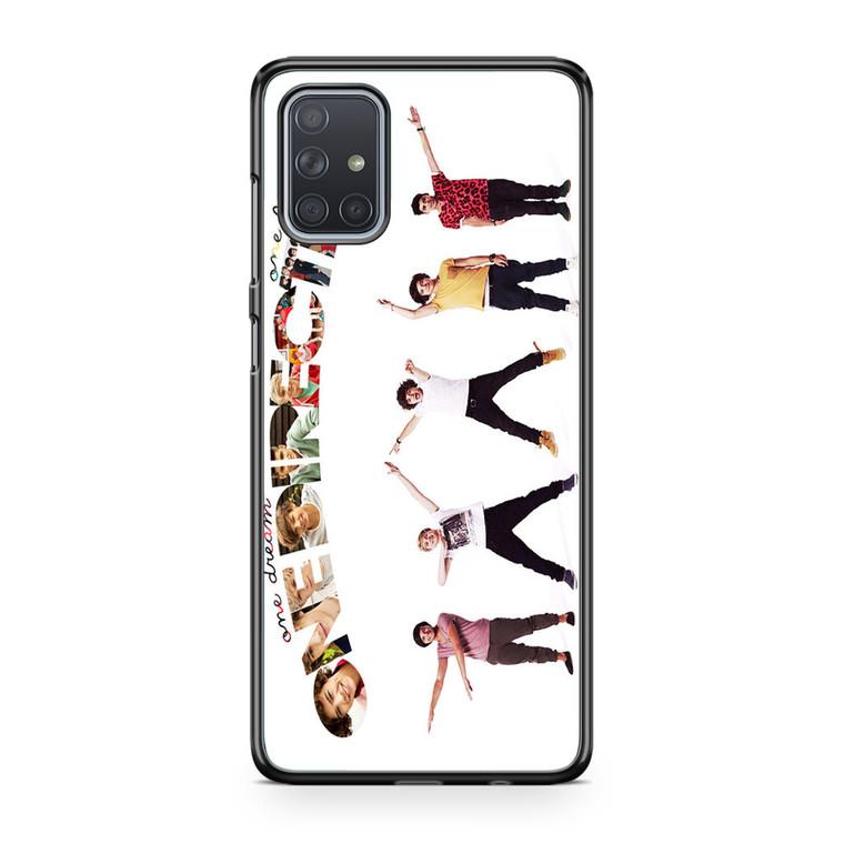 1D One Dreams One Lands Samsung Galaxy A71 Case