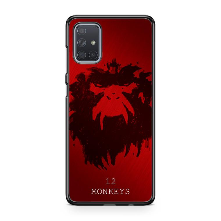 12 Monkeys Samsung Galaxy A71 Case