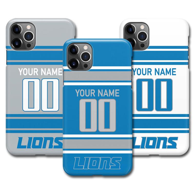 Custom Detroit Lions Football Jersey