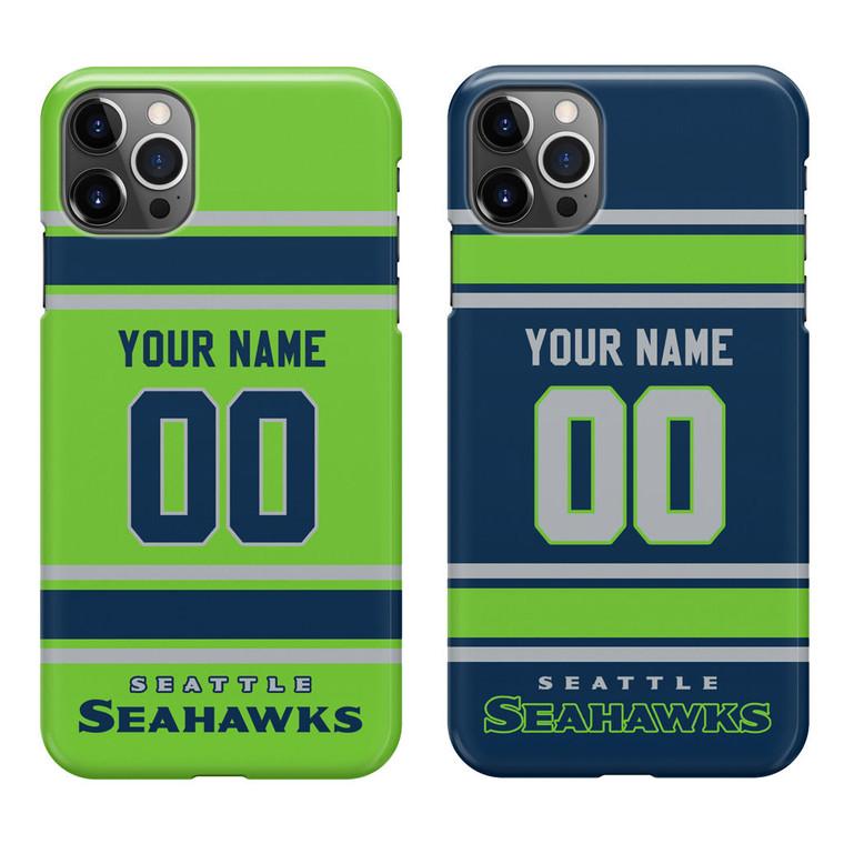 Custom Seattle Seahawks Football Jersey