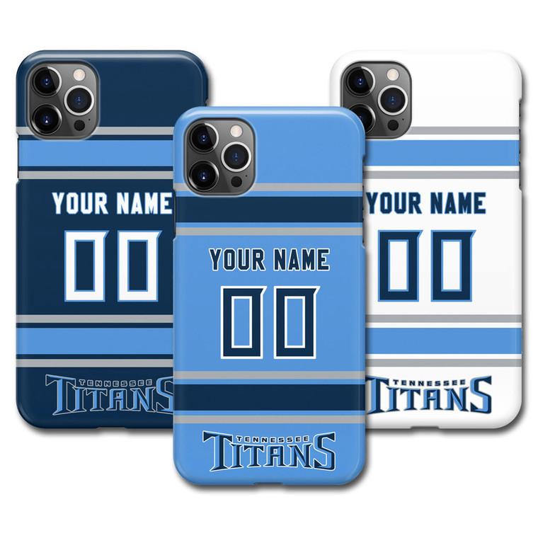 Custom Tennessee Titans Football Jersey