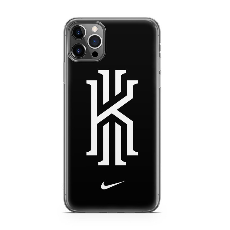 Kyrie Irving Nike Logo Black1 iPhone 12 Pro Case