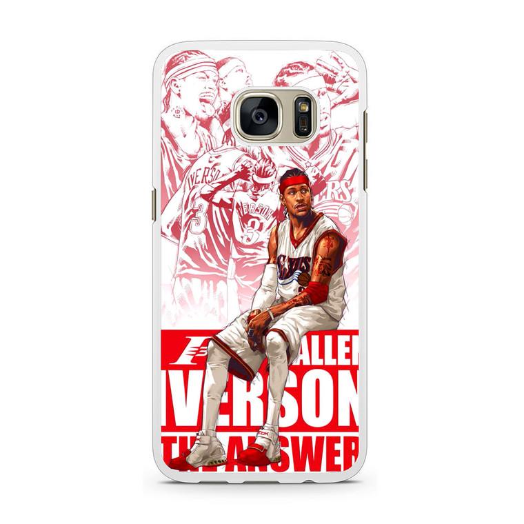 The Answer Allen Iverson Samsung Galaxy S7 Case