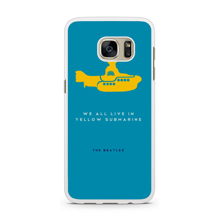 The Beatles Yellow Submarine Samsung Galaxy S7 Case