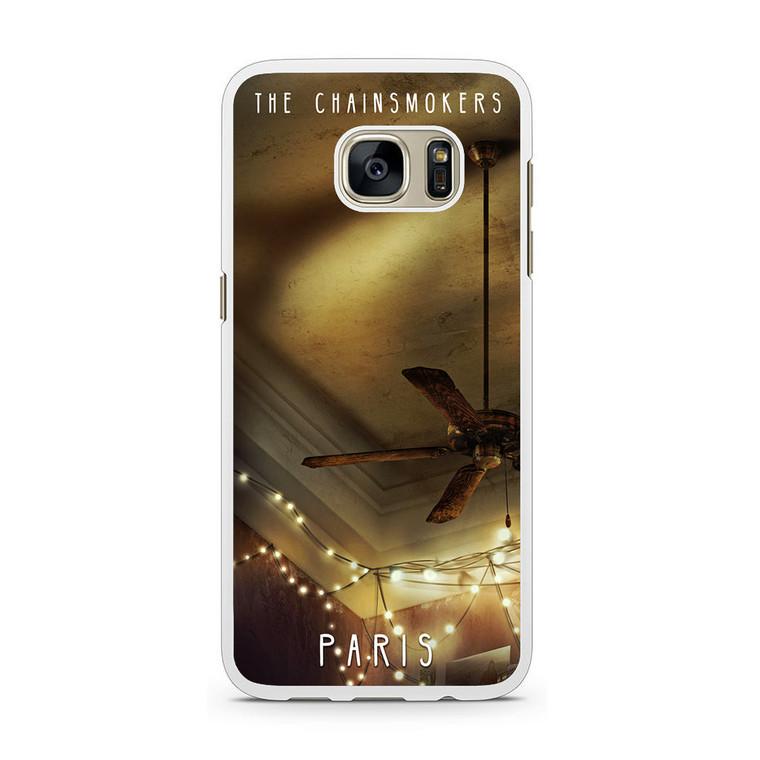The Chainsmoker Paris Samsung Galaxy S7 Case
