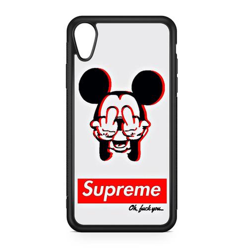 best loved da3af 5071c Mickey Mouse Dope Supreme iPhone XR Case