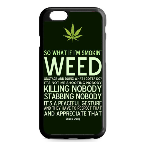buy popular 85b75 2f6a2 Cool Weed Snoop Dog iPhone 6/6S Case