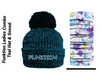 Funktion Golf Ladies  Thermal TEAL Hat and Matching Snood