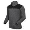 FUNKTION GOLF Alpha Thermal Performance Pullover Sweater - Heather Grey /  Black