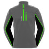 FUNKTION GOLF Thermal Performance Pullover Sweater - Grey / Black / Green