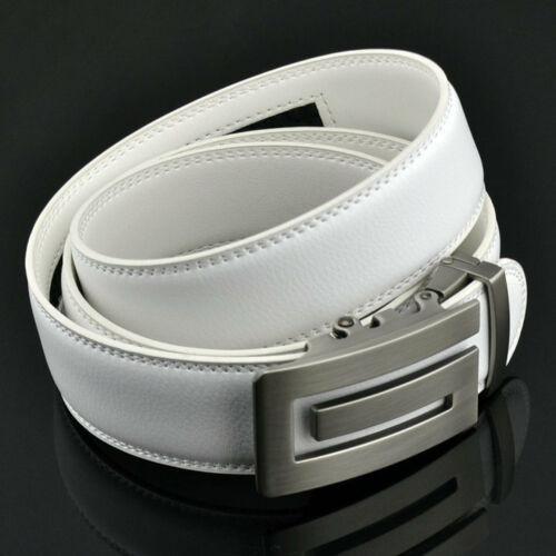FUNKTION GOLF Mens White Square G Belt Automatic Adjustable 30 -3