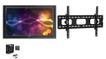 """The Display Shield 52-55"""" Outdoor Display Enclosure with Fan and Tilt Mount"""