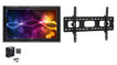 """The Display Shield 44-50"""" Outdoor Display Enclosure with Fan and Tilt Mount"""