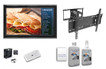 "The Display Shield 44-50"" Anti-Glare Tilt & Swivel Mount Ultimate Combo Kit"