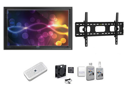 "The Display Shield 52-55"" Outdoor Display Enclosure Tilt Mount Ultimate Kit"