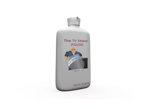 The TV Shield Clear Front Panel Polycarbonate Polish (2 oz bottle)