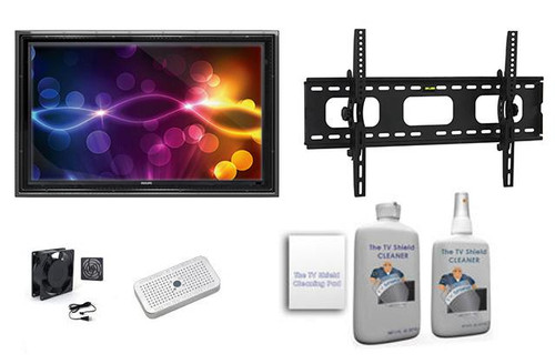 "The Display Shield 44-50"" Outdoor Display Enclosure Tilt Mount Ultimate Kit"