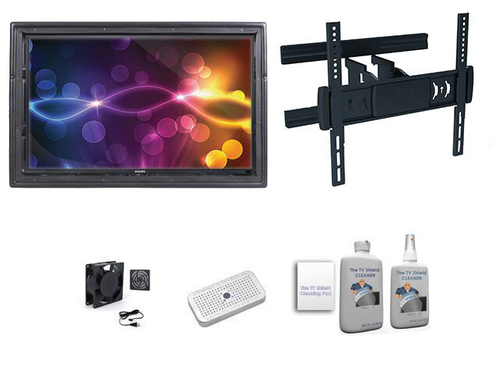 "The Display Shield 36-43"" Outdoor Enclosure Full Motion Mount Ultimate Kit"