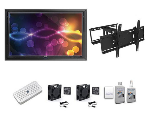 "The Display Shield 60-65"" Outdoor Enclosure Tilt & Swivel Mount Ultimate Kit"