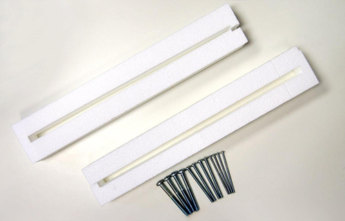 """2 inch Flat Screen Spacer Kit for 19 - 29"""" Enclosures"""