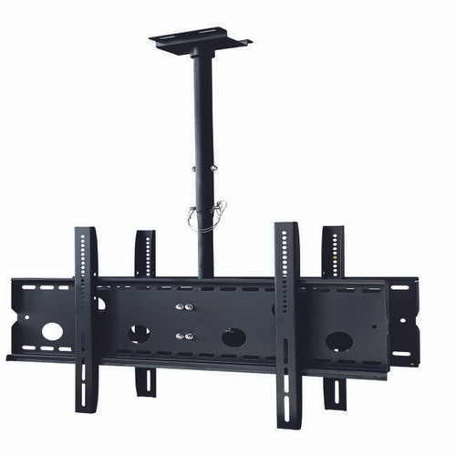 TV Ceiling Mount for 2 large flat panel displays - 32 to 65 inches